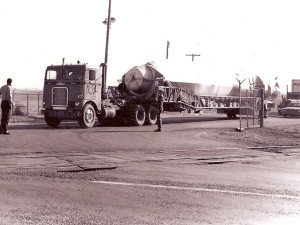 Transporting an Atlas Missile